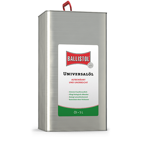 Масло оружейное Ballistol Oil 5л